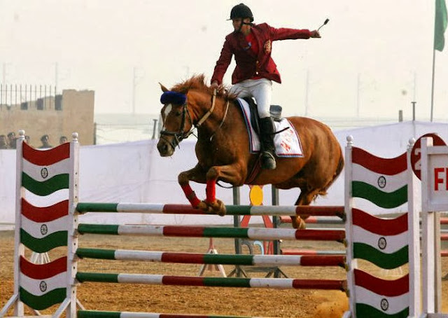 Horse Show in Delhi Cantt