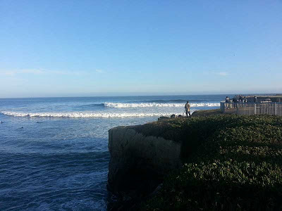 Steamer Lane Santa Cruz Longboard Surf Contest