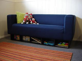 Ikea Klippan Bookcase Mod