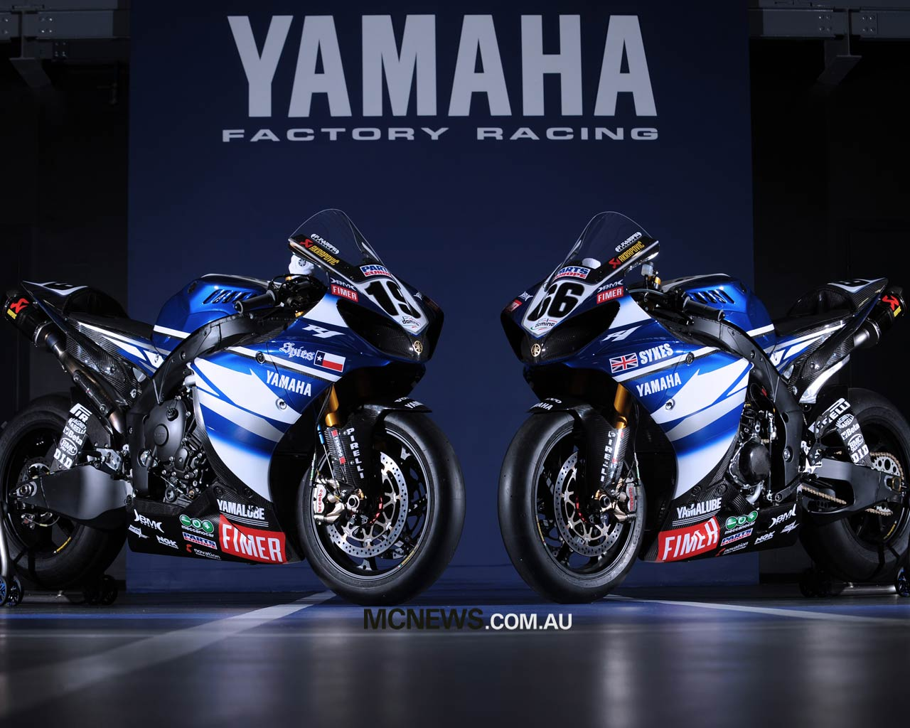 Yamaha r1 superbike wallpapers