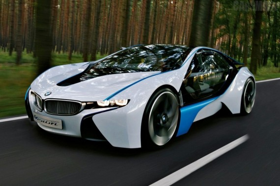 The Best Cars In The World Bmw Vision Efficient Dynamics Super Car Model 2013