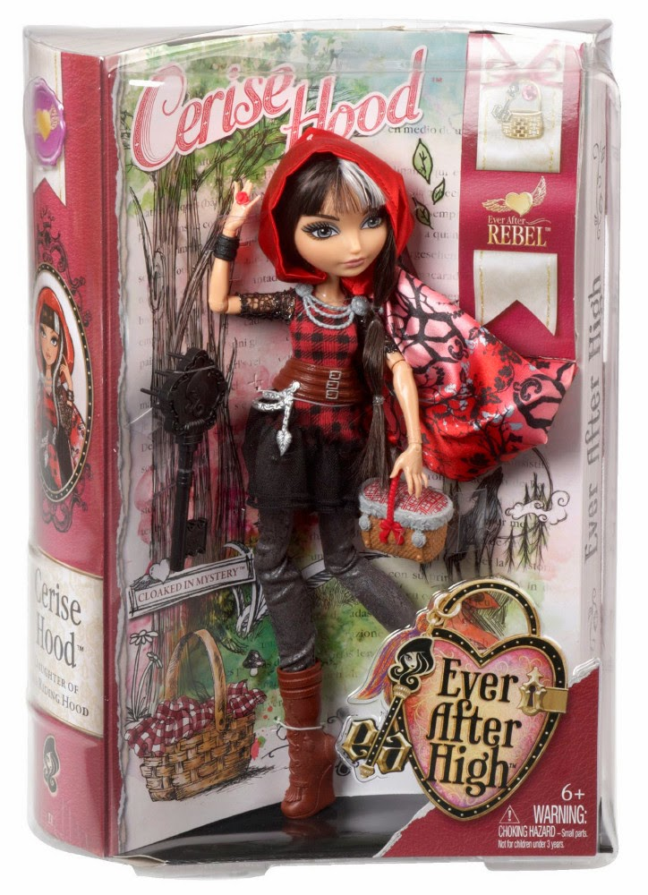 TOYS - Muñeca Cerise Hood : Ever After High - Rebel  Juguete oficial | Mattel BBD44 | A partir de 6 años