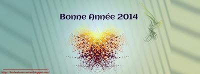 Image couverture facebook bonne année 2014