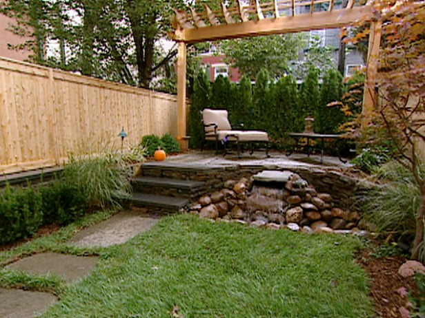 decorar um jardim : decorar um jardim: Decoração: 12 Ideias para Decorar um Quintal ou Jardim Pequeno