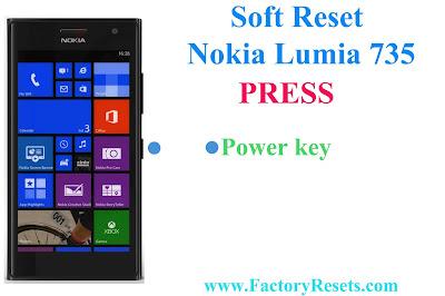 Soft Reset Nokia Lumia 735