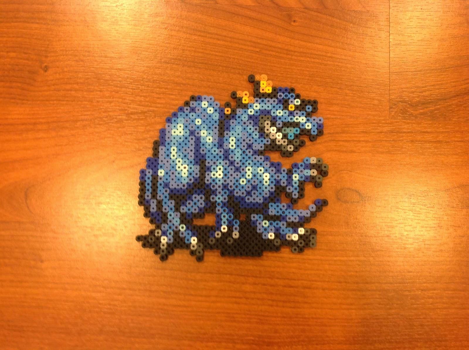 Becs Blog Perler Beads More Final Fantasy Dragons