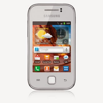 Samsung S5369 Galaxy Y firmware Download