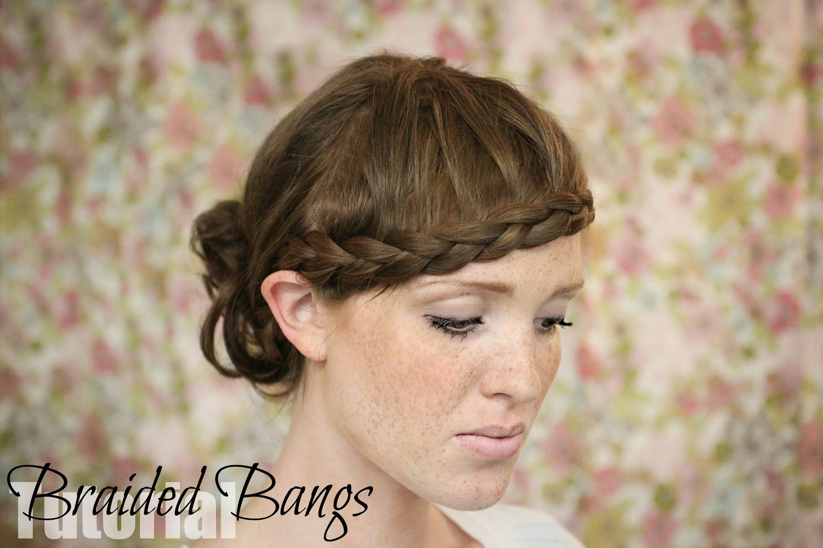 braided bangs tutorial - photo #6