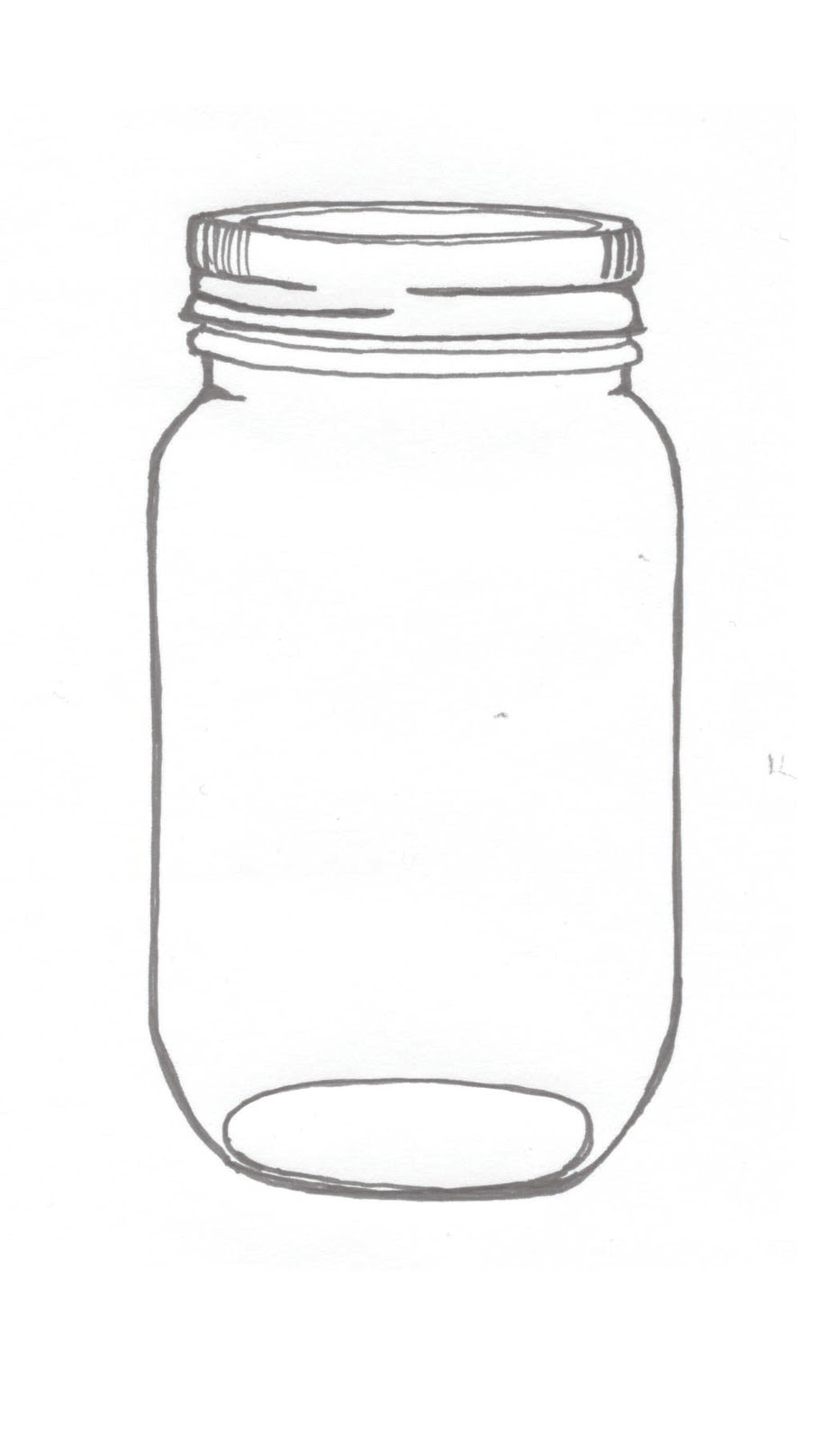 Divine image for free printable mason jars