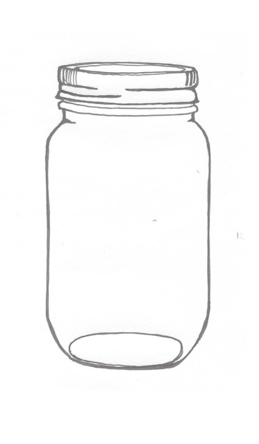 Mason Jar Drawing Images & Pictures - Becuo