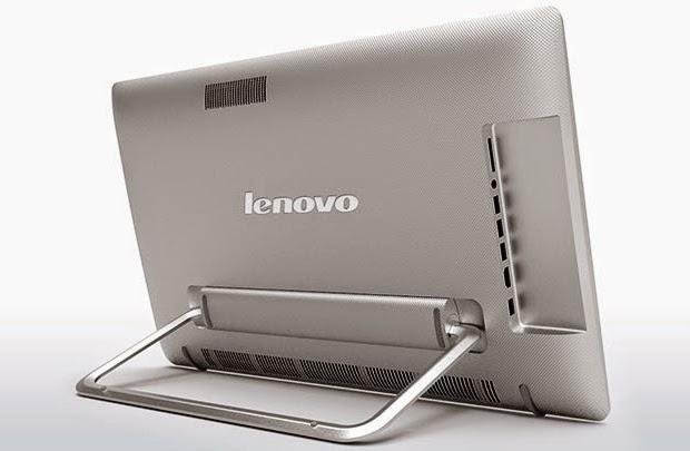 задняя сторона моноблока Lenovo Horizon 2E