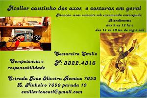 ATELIER CANTINHO DOS AXOS E COSTURA EM GERAL