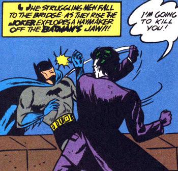 As cinco maiores batalhas do Batman 13