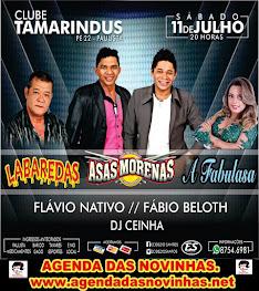 CLUBE TAMARINDUS - ASAS MORENAS.