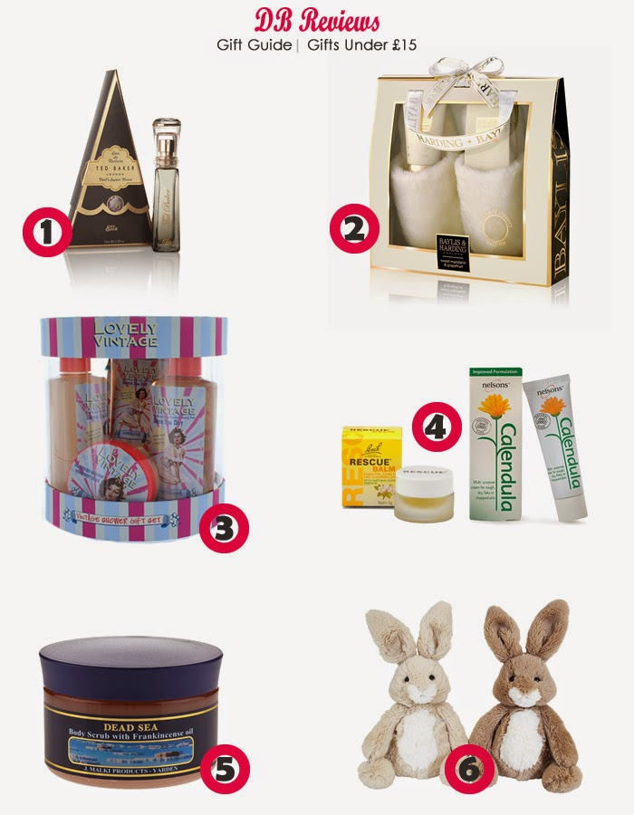 Gifts Under £15 | Stocking Fillers Christmas 2014 | Gift Guide