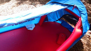 Inflatable Bivouac Tent and Hand Pump by Mammut