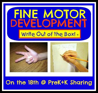 photo of: Fine Motor Development on the 18th Monthly at PreK+K Sharing with Dr. Mari