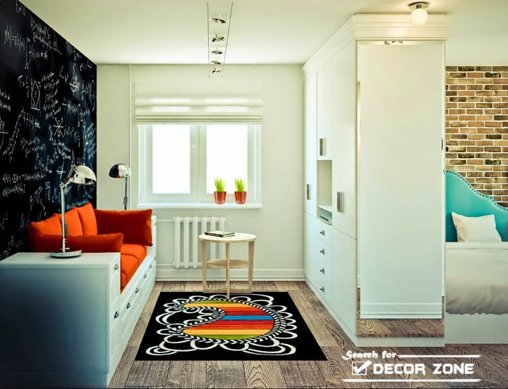 Studio Apartment Rooms one-bedroom studio apartment design with open interior