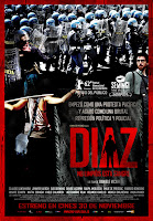 Película 'Díaz, no limpiéis esta sangre', del director Daniele Vicari, con Claudio Santamaría. Making Of. Cine