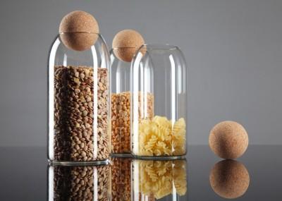 Envases con tapón de madera