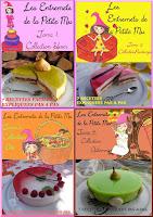 Cliquez sur l'image pour voir mes livres numériques:Les Entremets de la Petite Mu: 2,99€ par tome