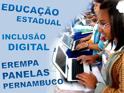 Estudantes do EREMPA recebem Tablets Educacionais
