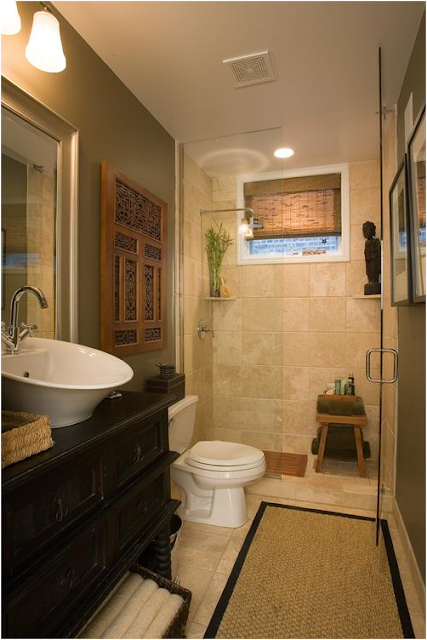 Asian bathroom design ideas for Asian small bathroom design