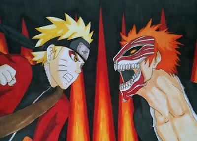 Naruto vs Bleach em 3D