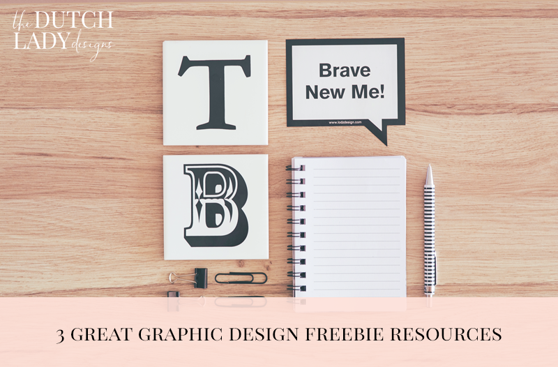 graphic design freebie resources