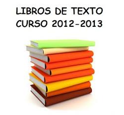 LIBROS DE TEXTO 2012/2013