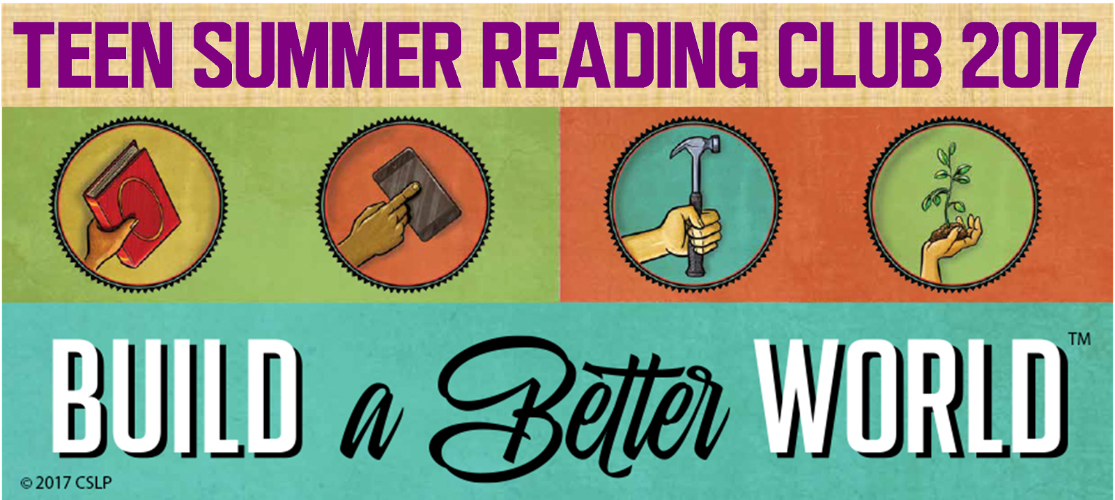 Teen Summer Reading Club 2017