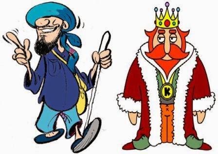 Dua Dongeng Singkat tentang Raja (King)
