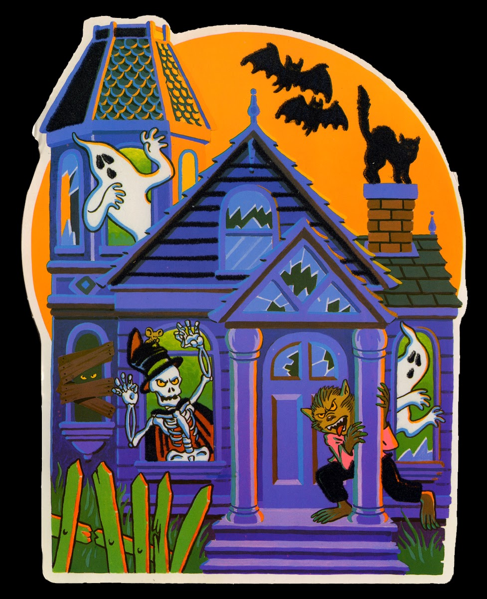 Neato coolville 1980 39 s halloween wall decorations for 1980s decoration ideas