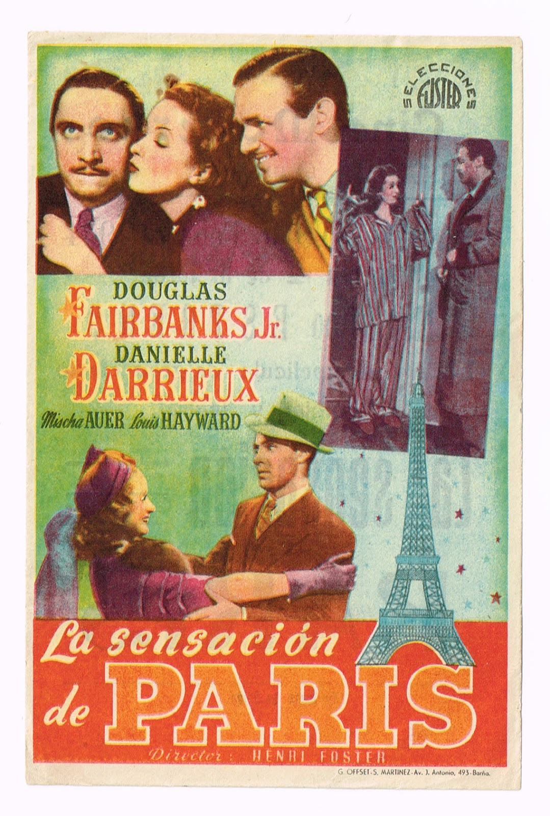 La Sensación De París (The Rage Of Paris) (1938)