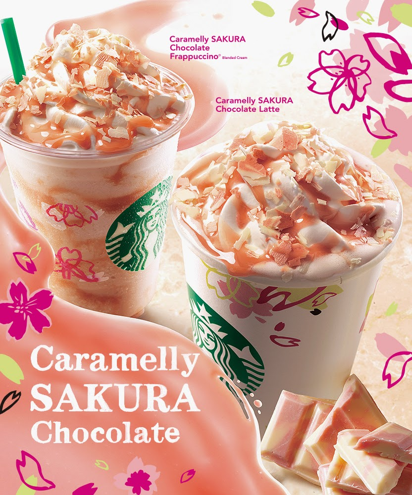 Starbucks Japan Cherry Blossom Selections