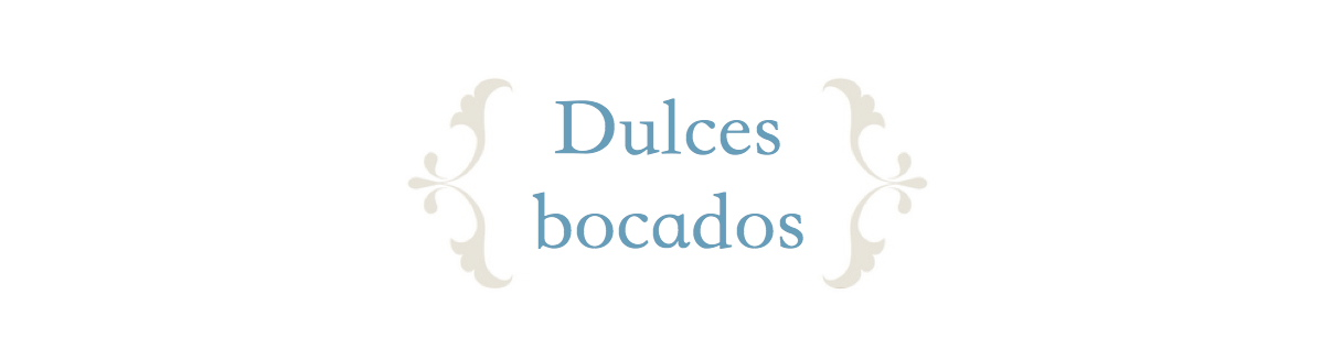 Dulces bocados