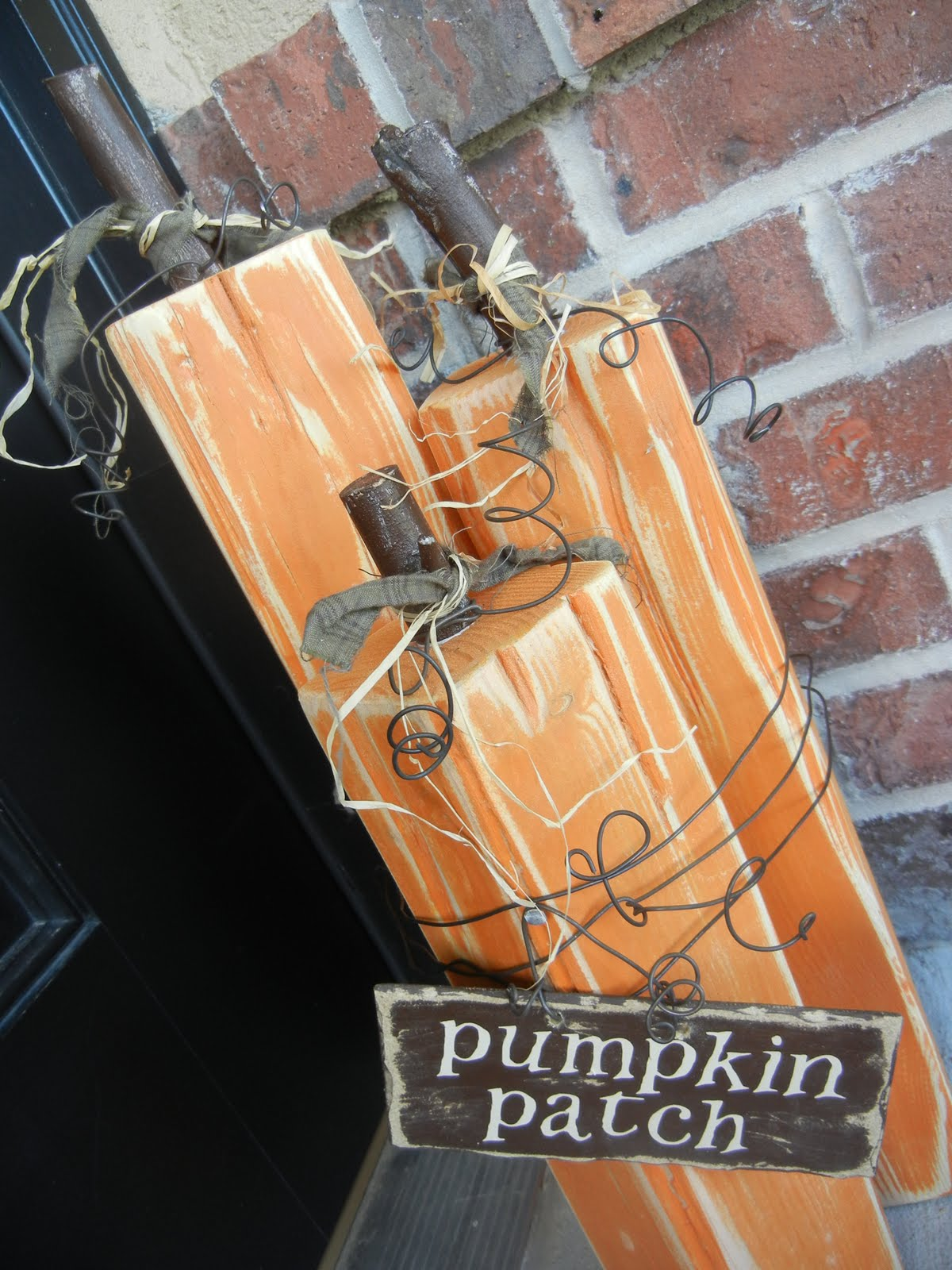 4x4 Wood Crafts You Craft Me Up Making Your Own Pumpkins