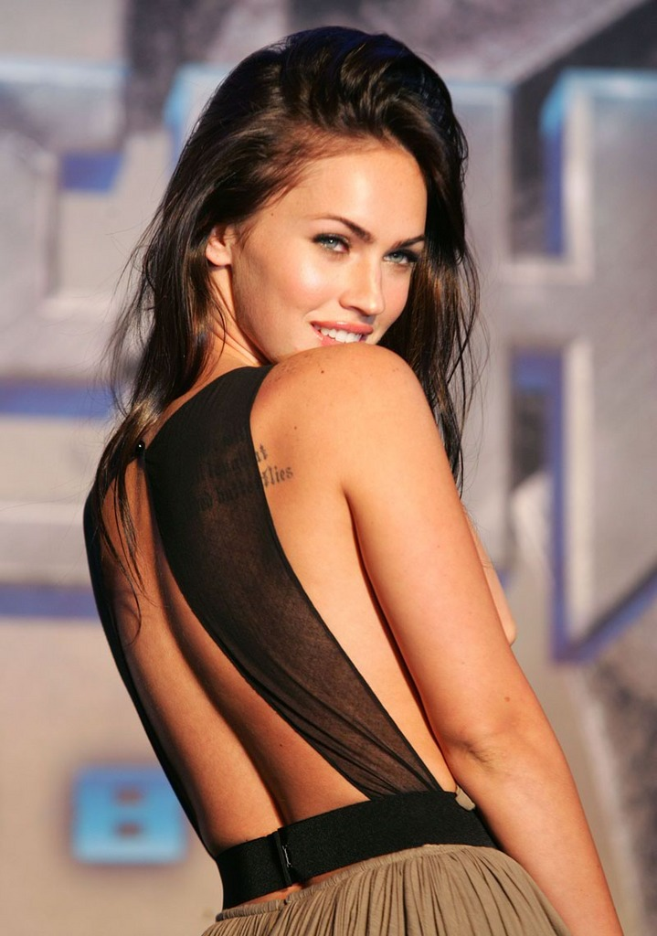 megan fox tattoos what do they say. It#39;s Megan Fox.