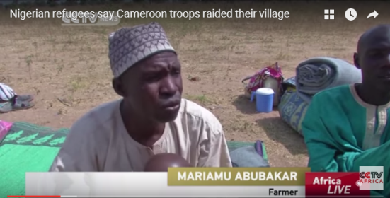 News : Nigerian refugees allege Cameroon troops raided their village [ Video ]