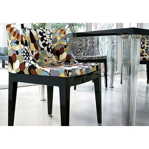 Philippe Starck S Missoni Fabric Mademoiselle Chair: Life Is A Color Palette: Flower Power