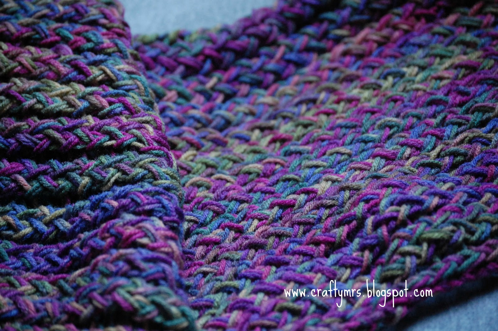 Craftymrs Round Loom Prayer Shawl