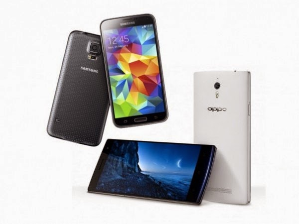 Oppo Find 7 And Galaxy S5 Choose Buy smartphone