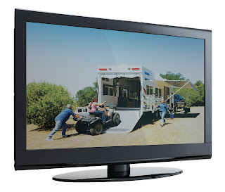 Flatscreen TV from La Mesa RV Albuquerque