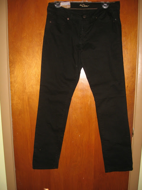 black skinny jean old navy