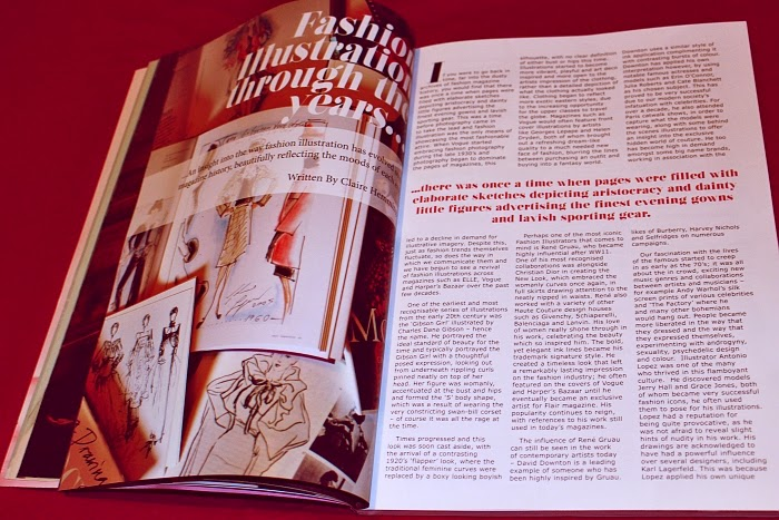 fashion management, robert gordo university, czech student, magazine