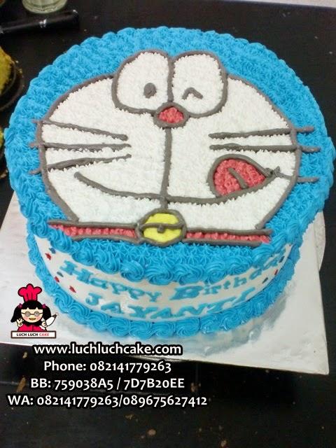 Kue Tart Doraemon 3D Kepala