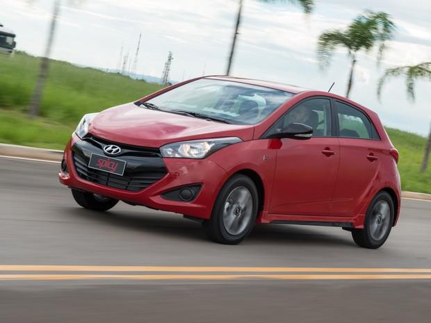 Hyundai HB20 - veículo mais vendido do Brasil no varejo