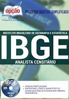 Apostila IBGE Grátis CD Simulado para Ansliata e Agente Censitário Administrativo