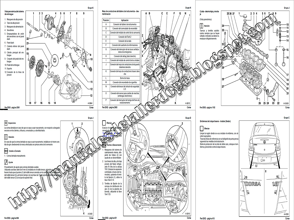 manual de taller corsa 1 8