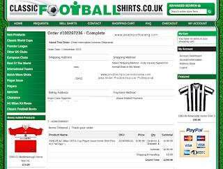 Jasa Order Classicfootballshirts